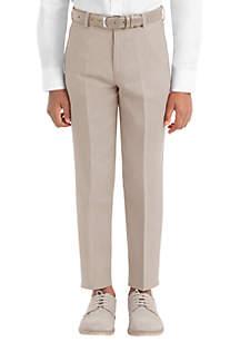 Lauren Ralph Lauren Boys 4-7 Tan Plain Linen Pants