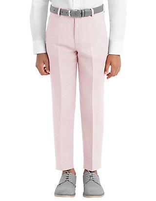 602cae745 Lauren Ralph Lauren. Lauren Ralph Lauren Boys 4-7 Pink Plain Linen Pants