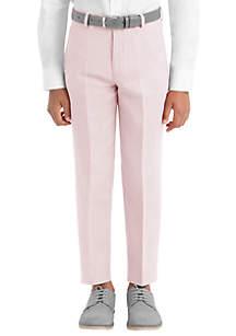 Lauren Ralph Lauren Boys 4-7 Pink Plain Linen Pants