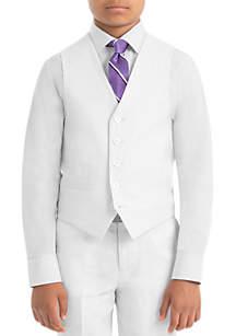 Lauren Ralph Lauren Boys 4-7 White Linen Vest
