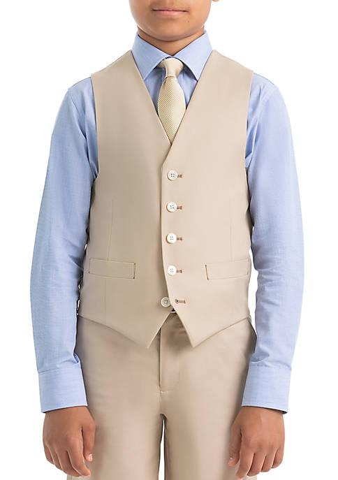 Lauren Ralph Lauren Boys 4-7 Tan Cotton Vest