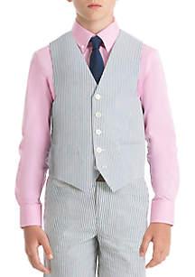 Lauren Ralph Lauren Boys 4-7 Blue Stripe Cotton Vest