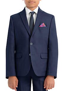 Lauren Ralph Lauren Boys 4-7 Navy Plain Linen Coat