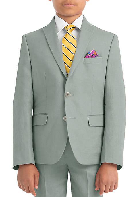 Lauren Ralph Lauren Boys 4-7 Sage Plain Linen