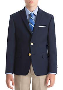 Lauren Ralph Lauren Boys 4-7 Bright Navy CoolMax Blazer
