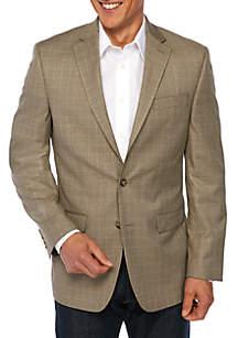 Brown Houndstooth Sportcoat