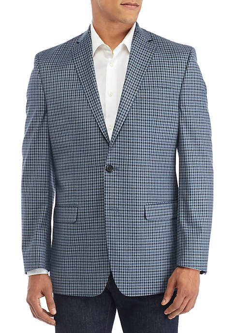 Lauren Ralph Lauren Check Stretch Sport Coat
