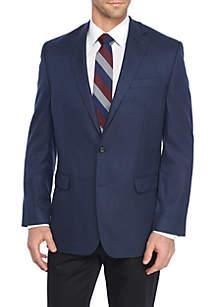 Blue Plaid Stretch Sportcoat