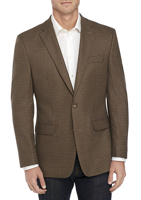Lauren Ralph Lauren Houndstooth Stretch Sport Coat