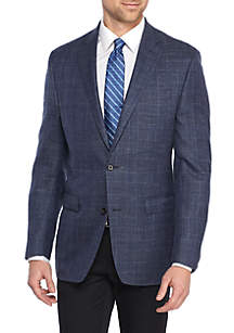 Blue Plaid Sportscoat