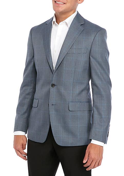 Blue Classic Fit Sport Coat