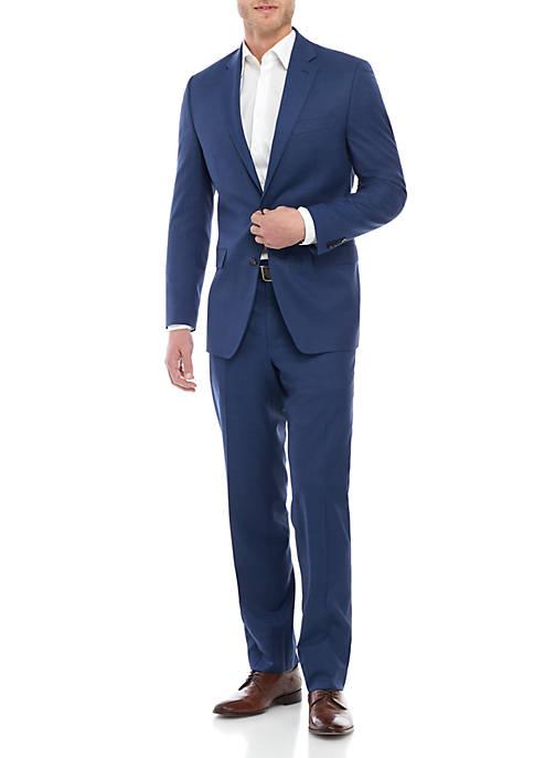 Lauren Ralph Lauren Blue Ultra Flex Suit