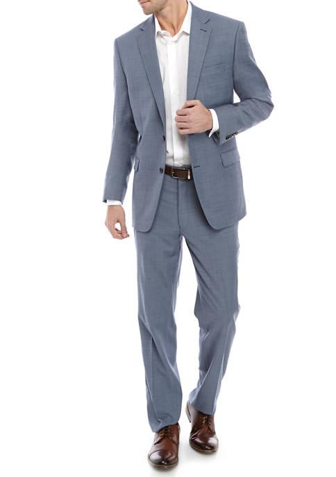 Mens Light Blue Shark Suit