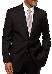 Lauren Ralph Lauren Classic Fit Ultraflex Sharkskin Suit Separate Coat