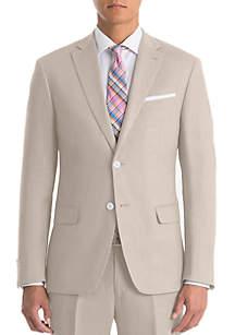 Lauren Ralph Lauren Tan Linen Coat