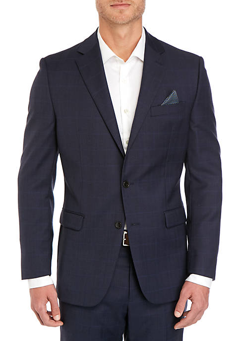 Lauren Ralph Lauren Blue Plaid Sport Coat