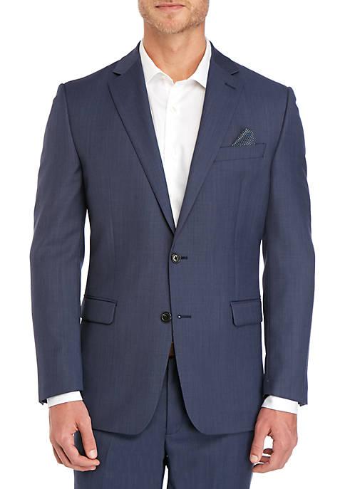 Lauren Ralph Lauren Blue Tic Sport Coat