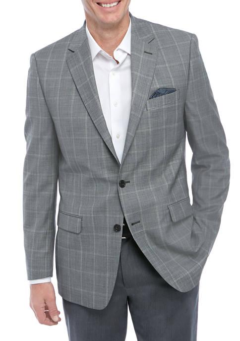 Lauren Ralph Lauren Mens Light Gray Suit Separate