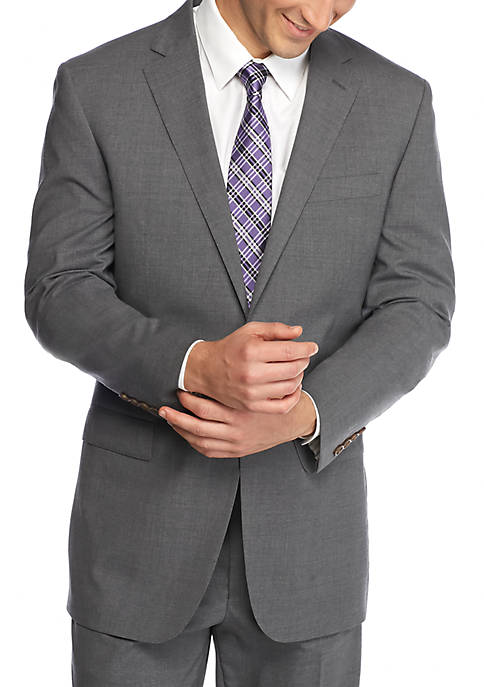 Slim-Fit Tailored Suit Separate Jacket