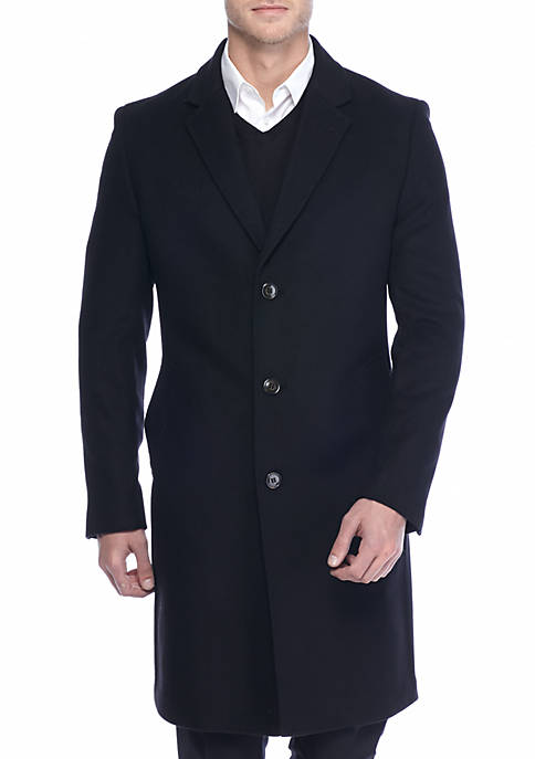 Classic-Fit Luther Overcoat