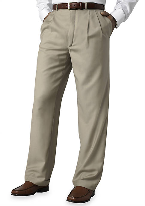 Lauren Ralph Lauren Classic Fit Total Comfort Pleated