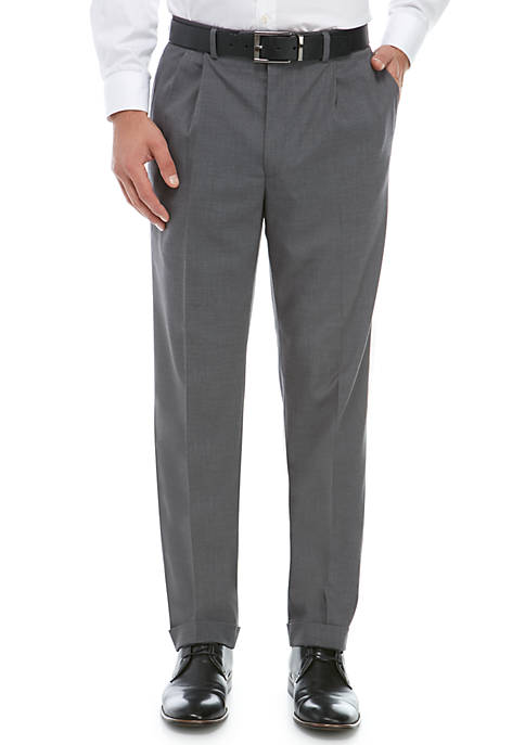 Ultraflex Gray Stretch Dress Pants