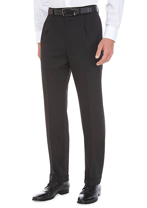 Lauren Ralph Lauren Ultraflex Stretch Pleated Pants