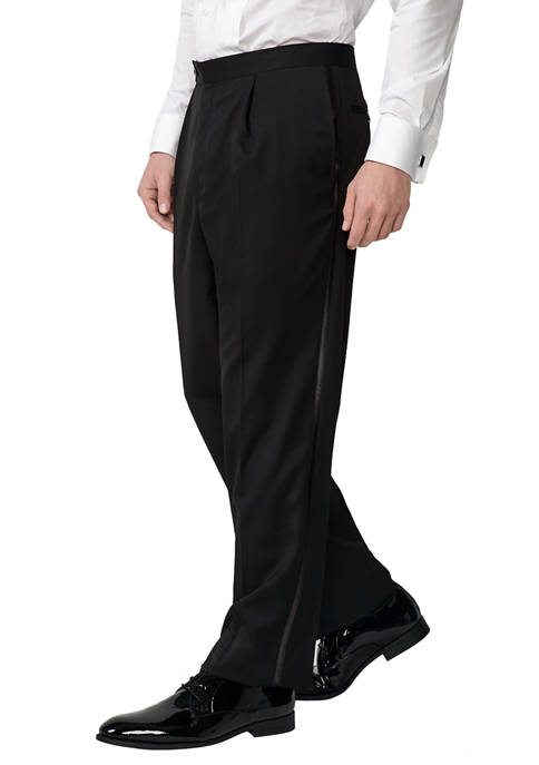 Madison Classic Fit Pleat Tuxedo Pants