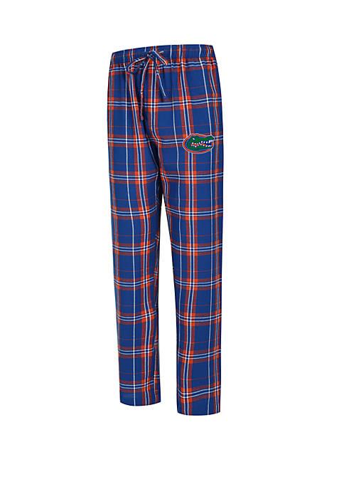 College Concepts NCAA Florida Gators Hillstone Flannel Pants