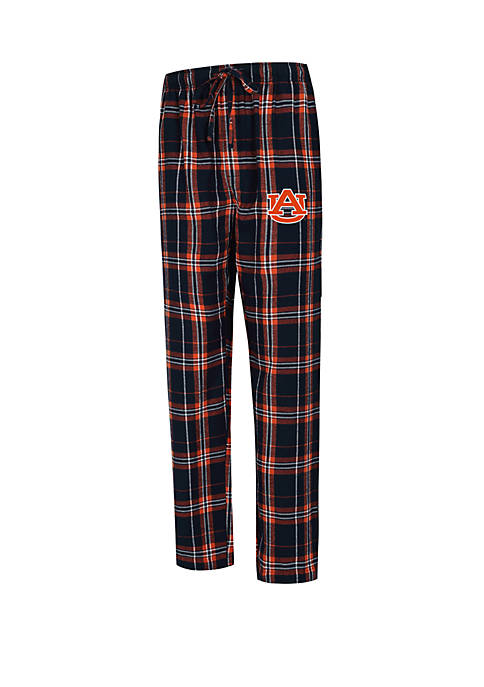 College Concepts NCAA Auburn Tigers Hillstone Flannel Pants
