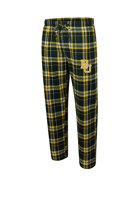 College Concepts Mens NCAA Baylor Bears Flannel Pants