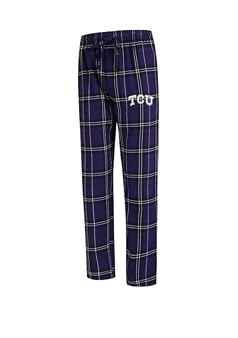 College Concepts Mens NCAA TCU Horned Frogs Flannel