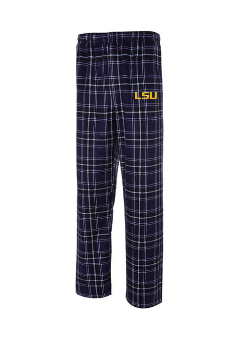 College Concepts Mens NCAA LSU Tigers Bolder Plaid