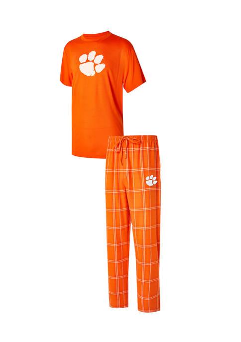 College Concepts NCAA Clemson Tigers Pajama Set