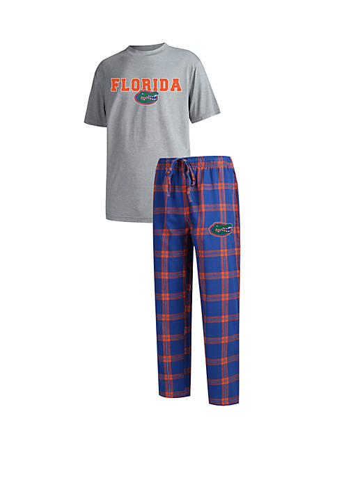 College Concepts Mens Florida Gators Troupe Short Sleeve