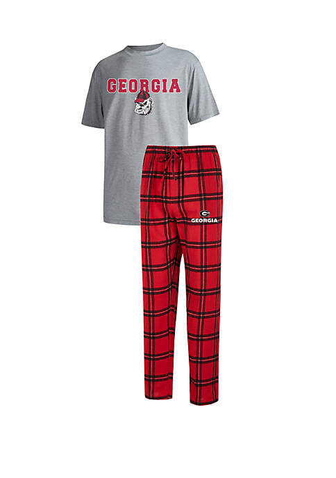 College Concepts Mens Georgia Bulldogs Troupe Short Sleeve