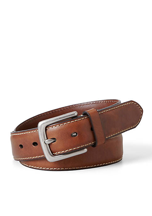 Fossil® Aiden Leather Casual Belt