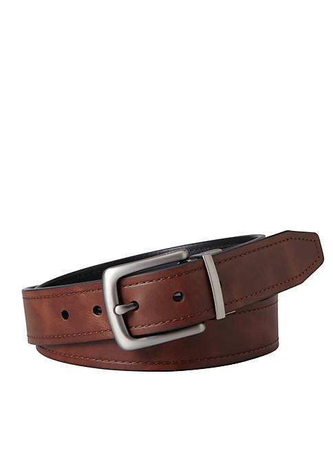 Fossil® Parker Leather Reversible Belt