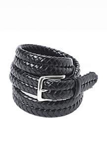 Maddox Leather Braided Belt