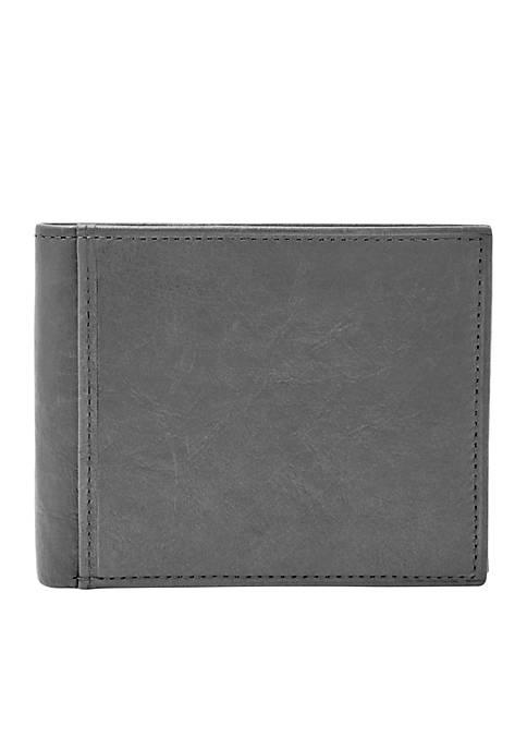 Fossil® Ingram RFID-Blocking Bifold Flip ID Wallet