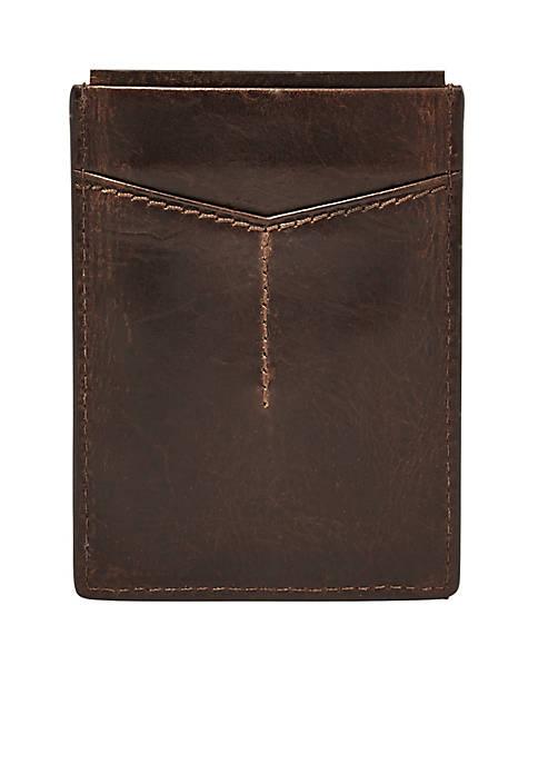 Derrick RFID Magnetic Card Case