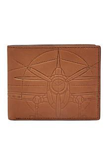 Axel RFID Bifold Flip ID Wallet