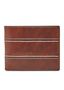 Reese Bifold Flip ID with RFID Lining
