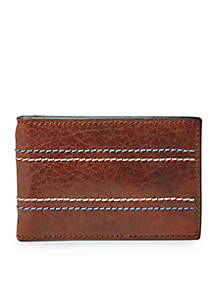 Reese RFID Money Clip Bifold with RFID Lining