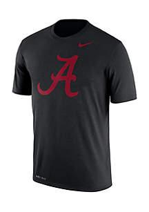 Alabama Crimson Tide Dri-Fit Legend Logo Short Sleeve Tee