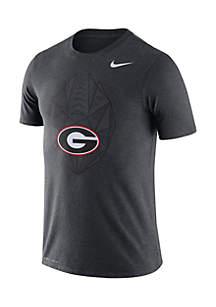 Georgia Bulldogs Dri-Fit Football Icon Short Sleeve Tee