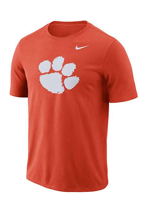 Nike® Clemson Short Sleeve Logo Tee