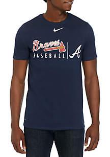 Nike® Atlanta Braves Dri FIT Practice T Shirt