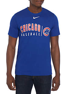 Nike® Chicago Cubs Practice Short Sleeve T Shirt