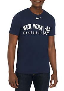 Nike® New York Yankees Dri FIT Practice T Shirt